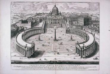 La Columnata de Bernini, renovada