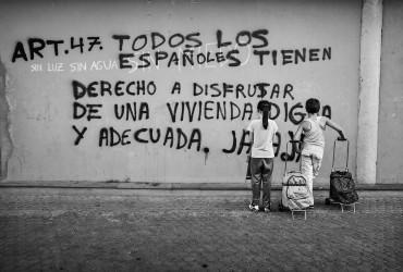 Aitor Lara: fotografías sobre la pobreza intantil