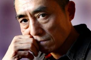 Fotografía del director y guinista Zhang Yimou.