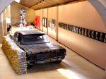 Panorámica de la Colección Fluxus-Donación Gino di Maggio. Foto Cortesía Museo Vostell Malpartida, Gobierno de Extremadura.