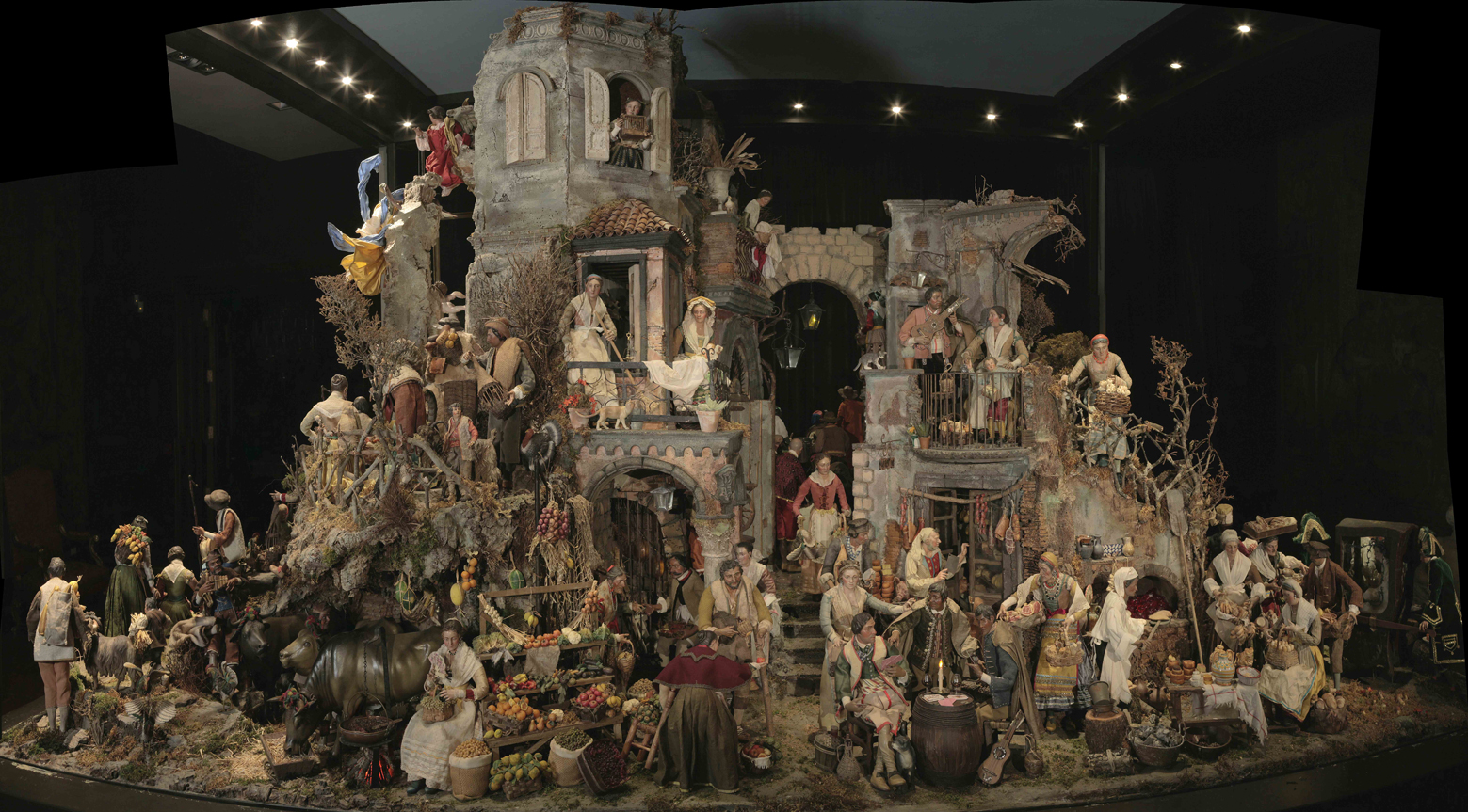 Ya ha llegado la navidad el bel n napolitano de los - Figuritas para el belen ...