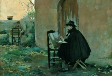 Santiago Rusiñol y Ramón Casas: precursores del modernismo catalán