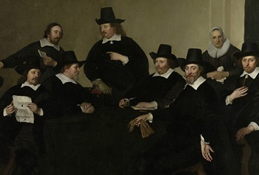 La edad de oro del retrato holandés en el Ermitage
