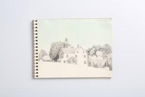 Cuaderno de viaje, 15 x 21 cm.