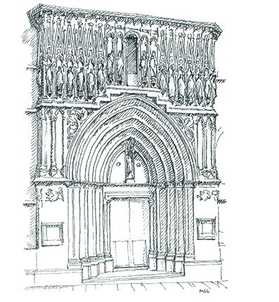 Un viaje por el arte g tico en espa a descubrir el arte for Elementos arquitectonicos pdf