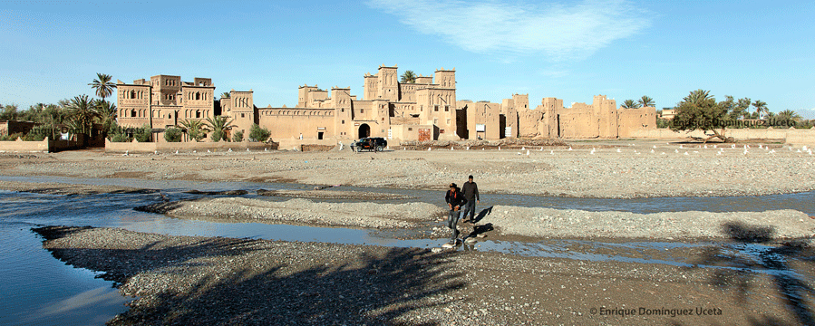 Kasbah de Amridil, Marruecos. © Enrique Domínguez Uceta