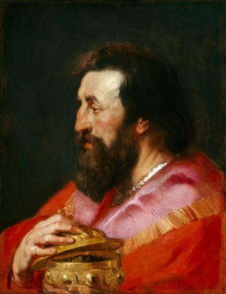 Uno de los Tres Magos, posiblemente Melchor, por Pedro Pablo Rubens, h. 1618, Washington, National Gallery of Art.