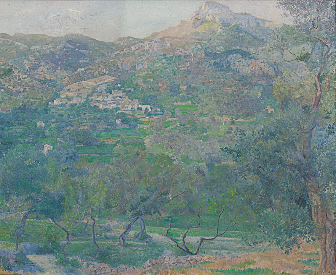 Obra de Francisco Bernareggi (Gualeguay, Argentina, 1878-Palma 1959).
