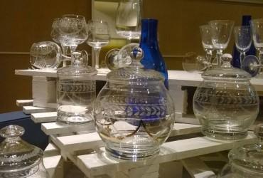 Mercadillo de piezas únicas de vidrio de la Real Fábrica de La Granja