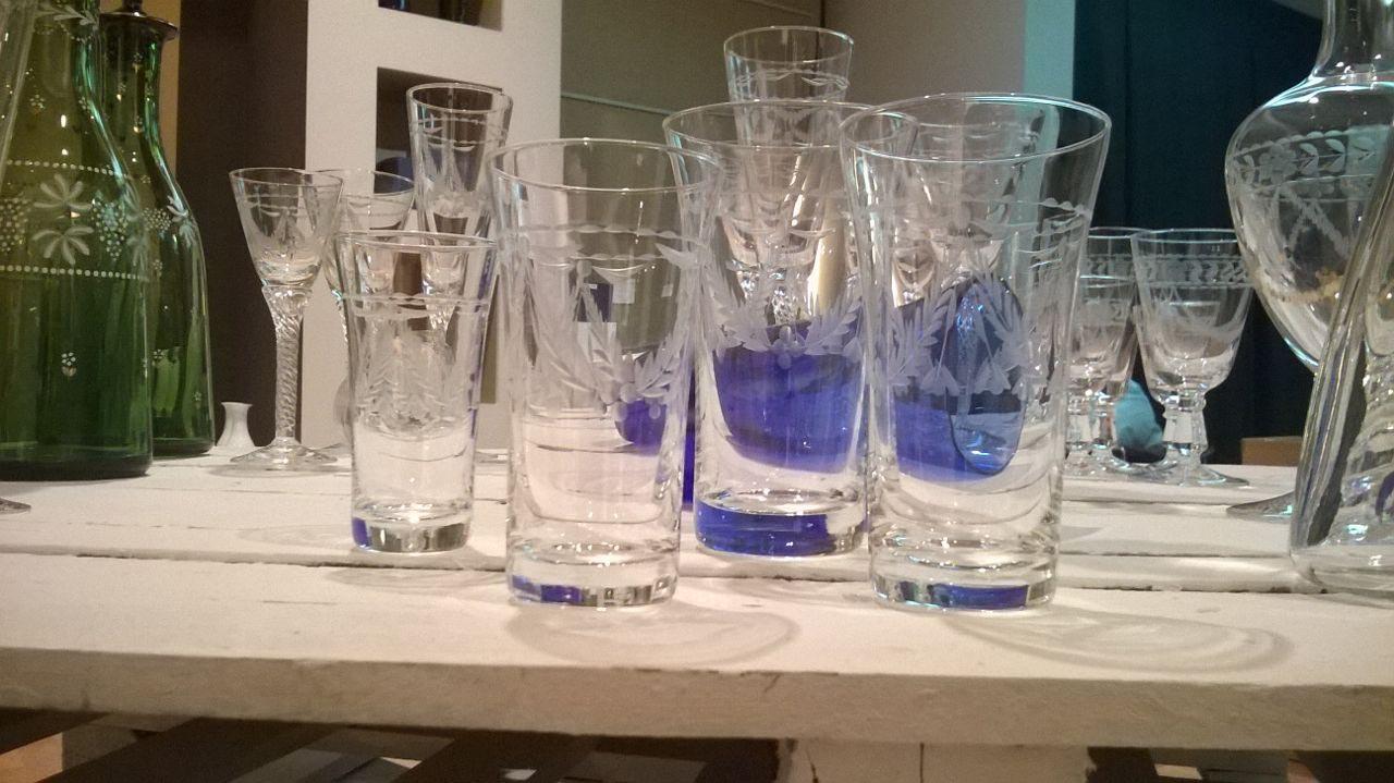 Mercadillo de piezas nicas de vidrio de la real f brica - Fabricantes de cristal ...