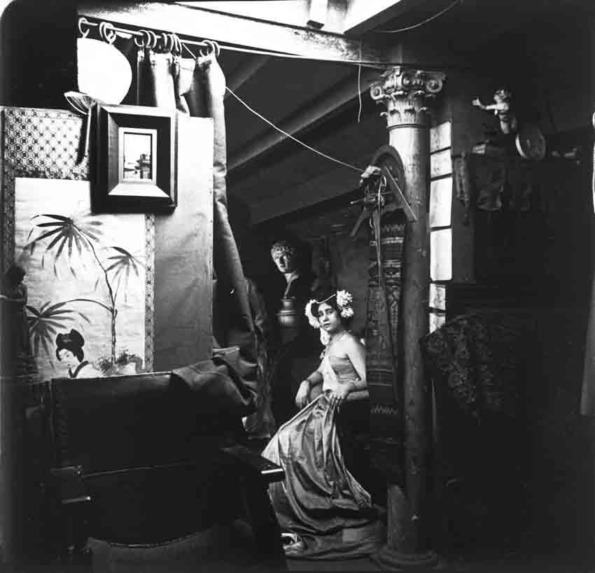 Fotografía de la exposición Retrato de Barcelona. Evolución de una ciudad.