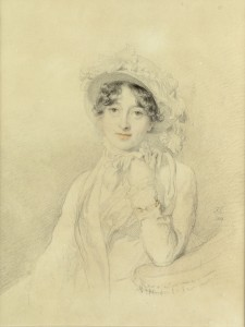 Catherine ('Kitty') Pakenham,  Duquesa de Wellington, por  Sir Thomas Lawrence, 1814.