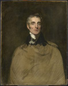 Arthur Wellesley, primer Duque de Wellington, por Sir Thomas Lawrence, 1829.