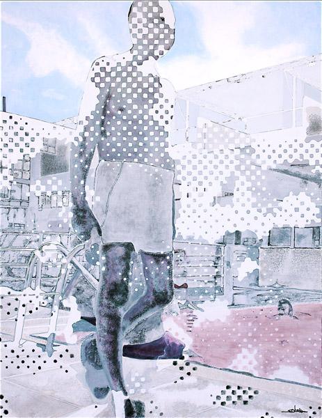 Esta y la de más arriba, son obras pertenecientes a esta exposición de Barcelona.