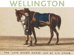 Detalle de la vista panorámica del cortejo funebre de Arthur, Duque de Wellington, por Samuel Henry Gordon Alken and George Augustus Sala, 1853.