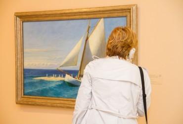 La noche en barco del Museo Carmen Thyssen