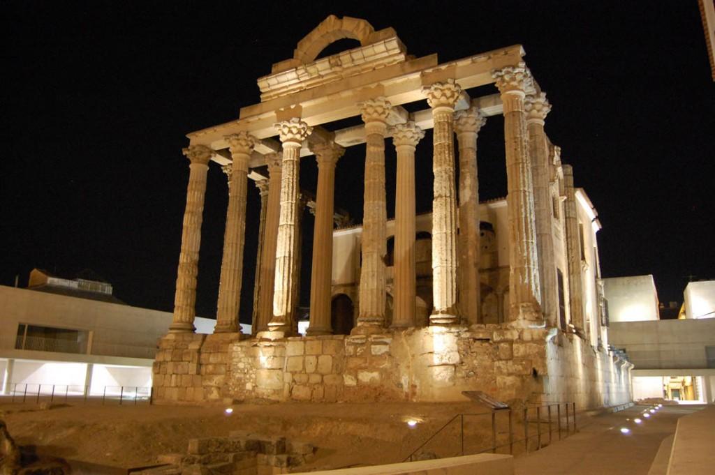 Merida Templo de Diana