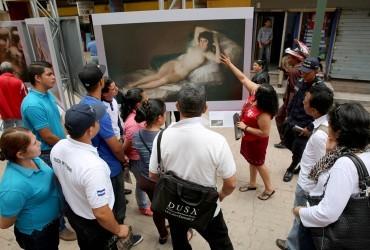 53 grandes obras del Prado en Honduras