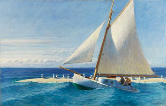 El 'Martha Mckeen' de Wellfleet, por Edward Hopper, 1944.