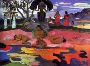 Mahana No Atua, 1894, Chicago Art Institute, Chicago.
