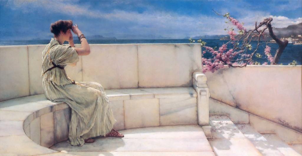 Expectativas, por Lawrence Alma-Tadema,