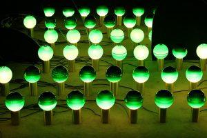 Lámpara Giardinetto's Green, por Jordi Canudas.