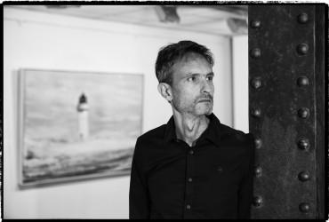 """Juan Luque: """"Mis cuadros hablan de la soledad, eso sí, de una soledad buscada, positiva, de creación"""""""