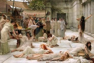 El hedonismo victoriano de Alma-Tadema
