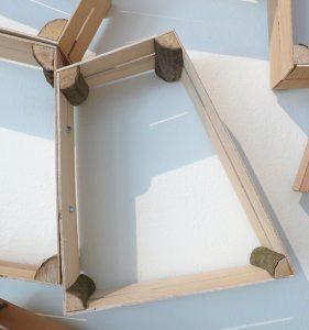 Estantería Split Boxes, por Peter Marigold.