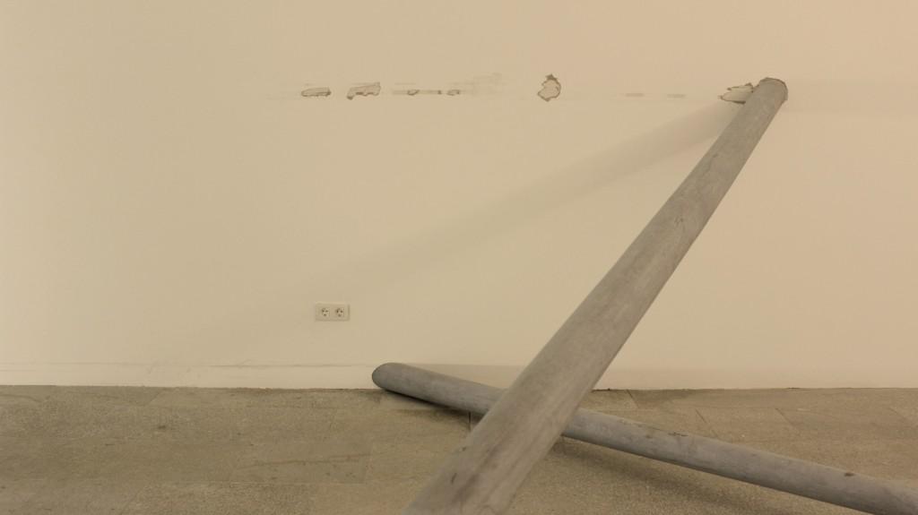 _ACHAR, 2015, por Juan López. Instalación en Anexo, MARCO.