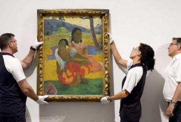 La obra de récord de Gauguin ya cuelga en el Reina Sofía