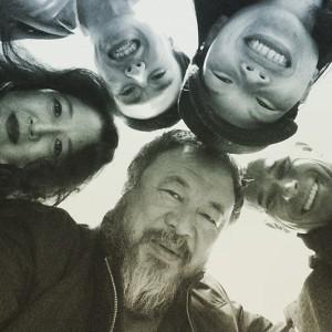 Ai Weiwei, 9 de marzo de, 2015, foto publicada en Instagram, © Ai Weiwei.
