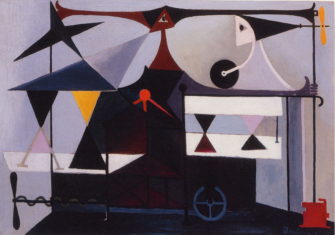 Machine Volante, por Óscar Domínguez.
