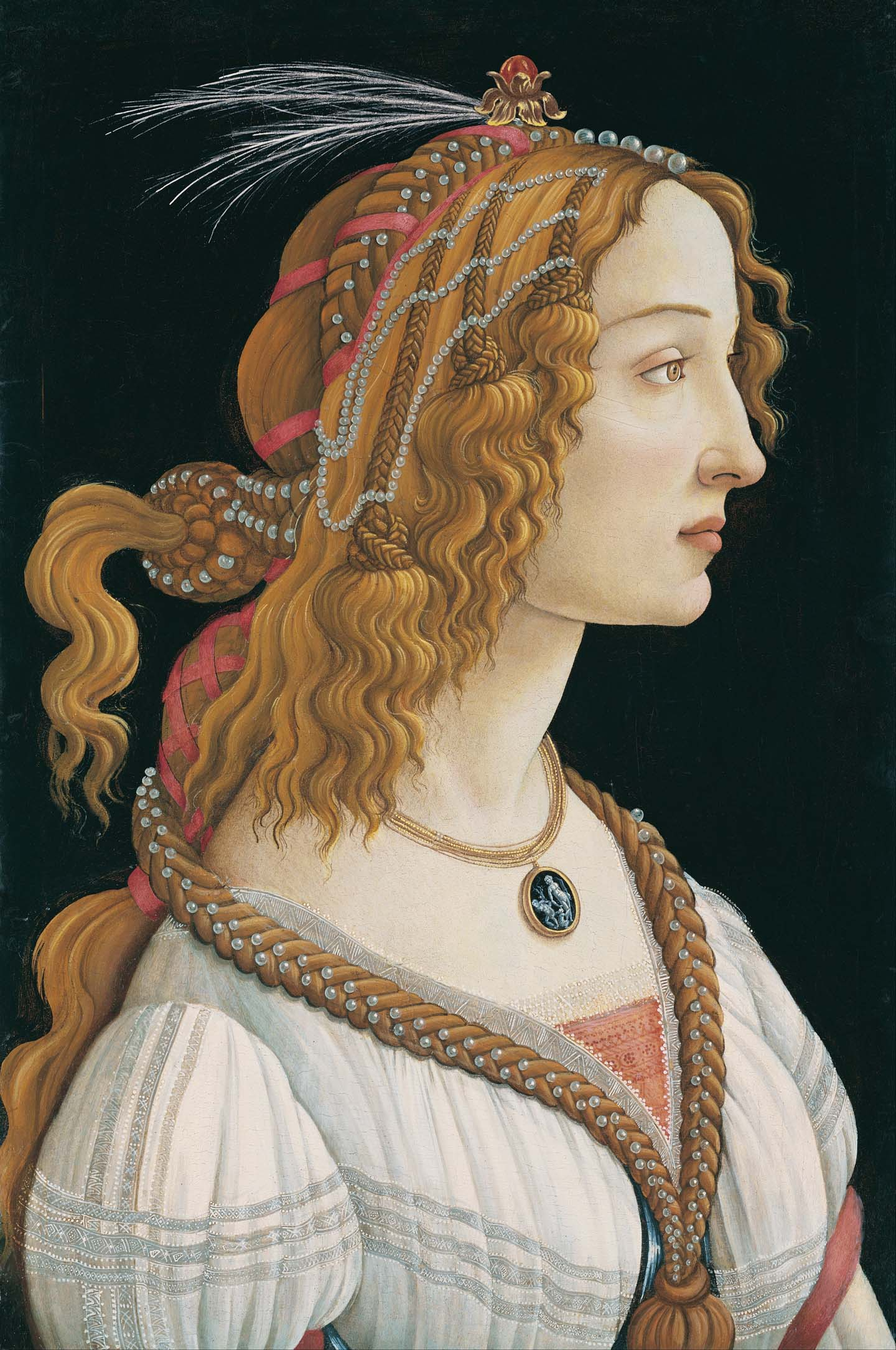 Retrato de Simonetta Vespucci.