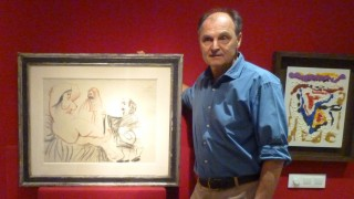 """Guillermo de Osma: """"Nuestra línea expositiva es la vanguardia histórica y la generación de los setenta y los ochenta"""""""