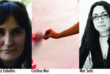 Tres mujeres, una suma de talento