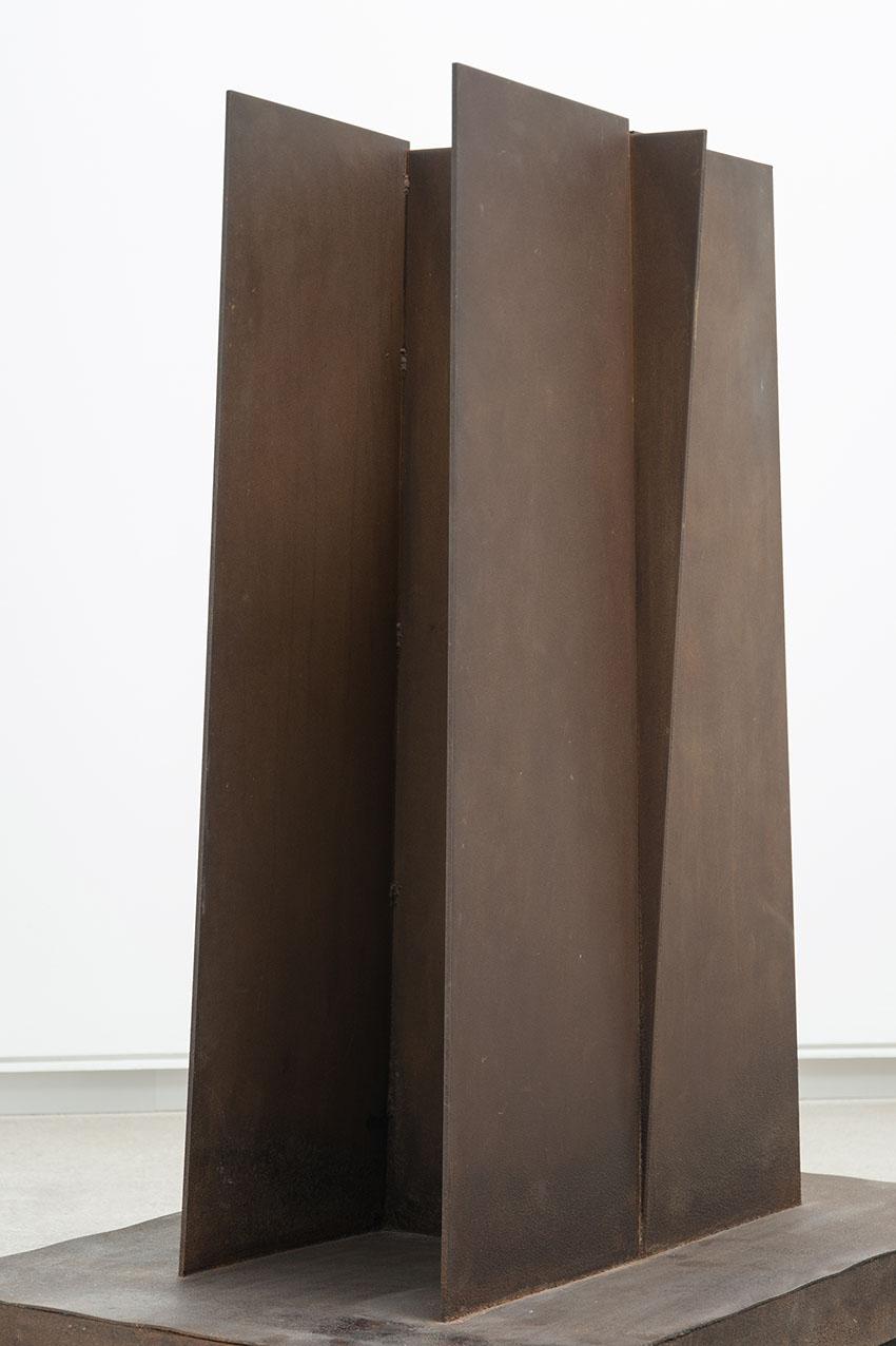 Escultura de Richard Serra.