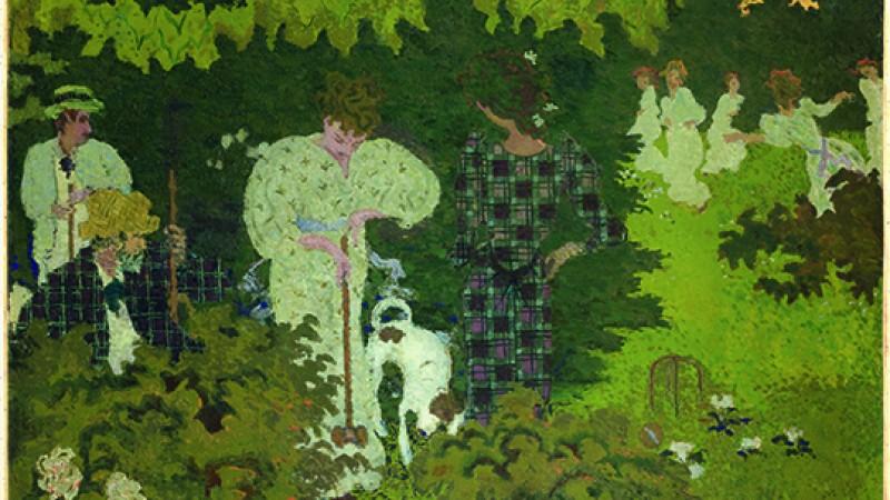 Pierre Bonnard, la intimidad que bombea color