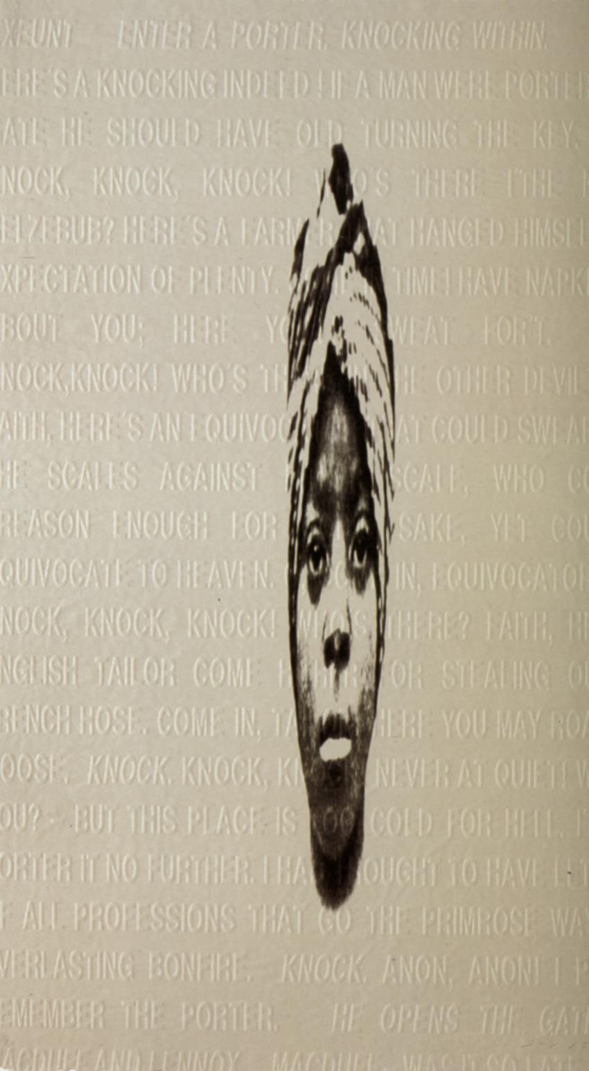 Anónimo III, 2005, litografía y aguafuerte, papel Japón Kôzo, 20 gr, 100 x 66 cm, ed. de 30 ejemplares + 5 PA + 3 HC.