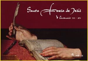 Folleto de la colección de grabados de Santa Teresa.