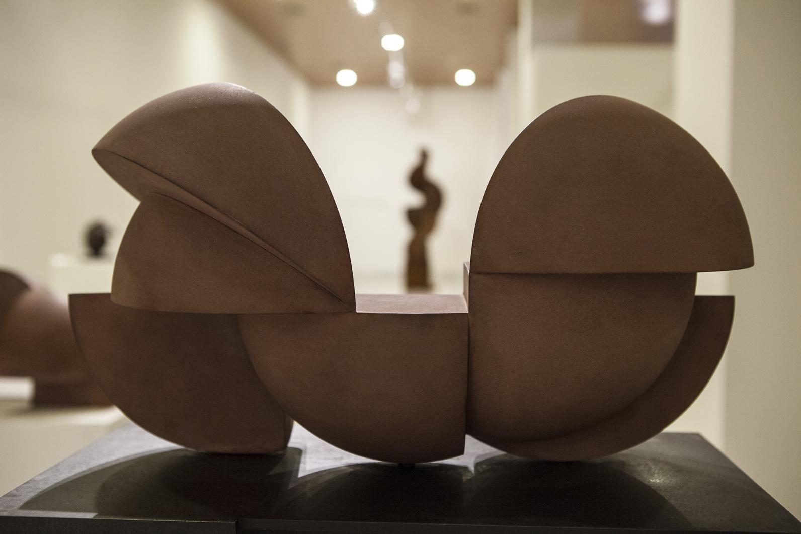 Detalle de la una de las salas de la exposición. Foto: Custo Tejero.