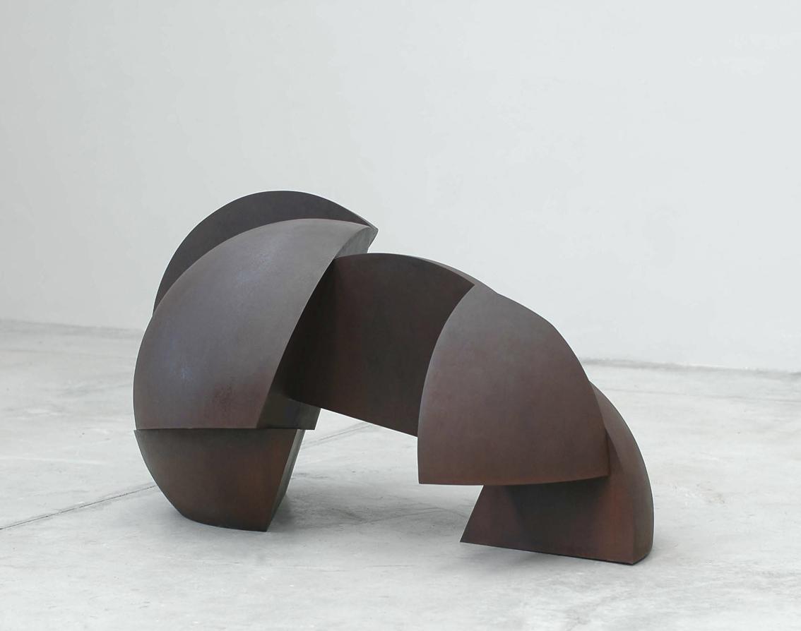 Eco, acero corten, 2013, 80,5 x 147,5 x 87 cm.