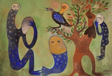 Un artista: Manuel Mendive. Una galería: Artizar