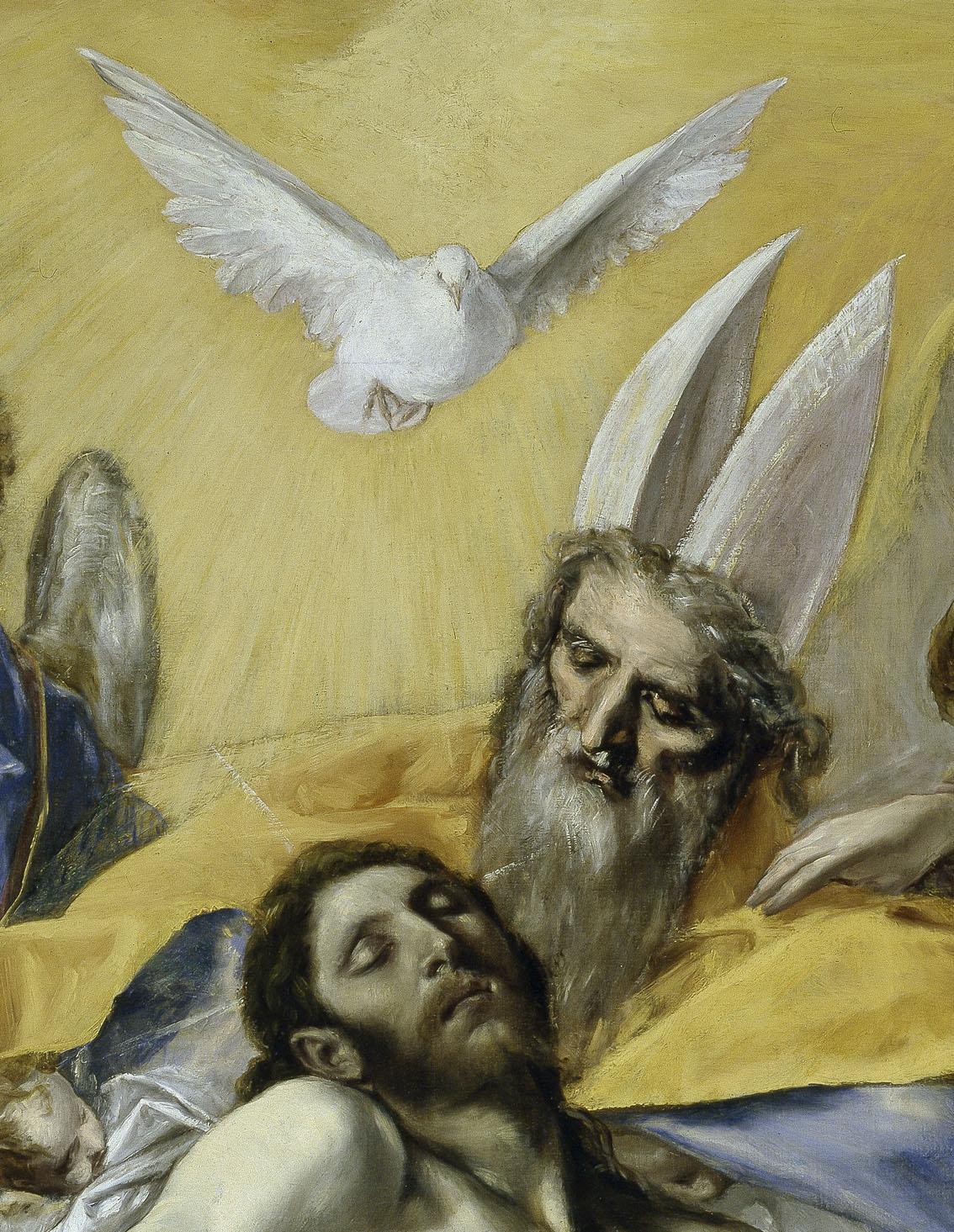 La Trinidad (detalle), óleo sobre lienzo, 1577-79, Madrid, Museo del Prado.