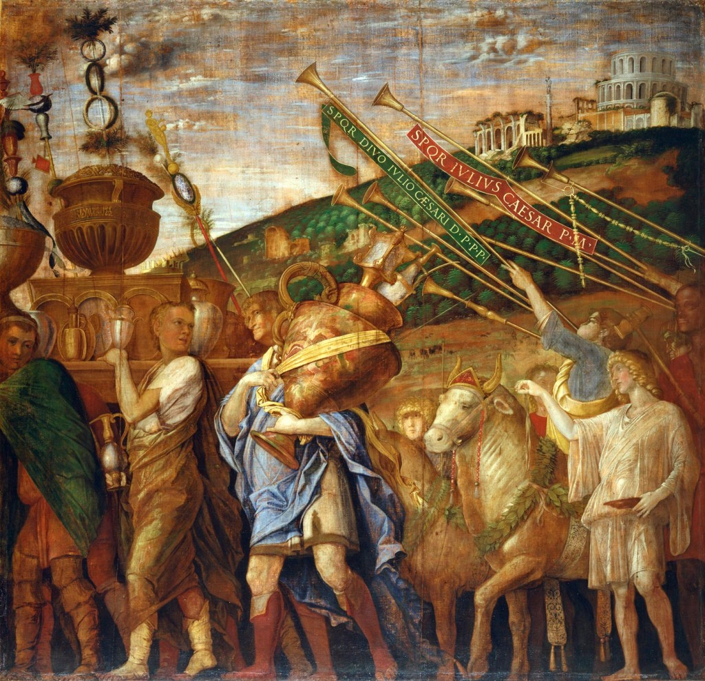 El triunfo de César.