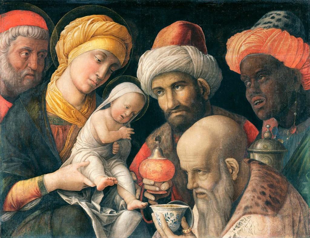 Epifanía o Adoración de los Reyes Magos, 1495-1505, Getty Center.
