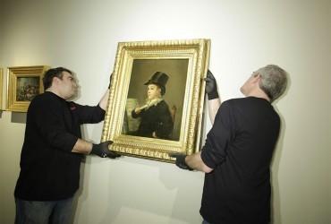 El nieto de Goya visita Zaragoza