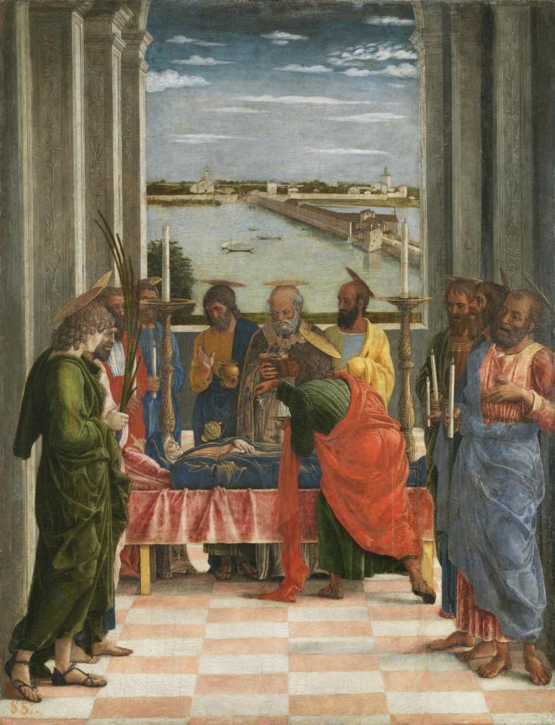 Tránsito de la Virgen, h. 1462, 54,5 x 42 cm, Madrid, Museo del Prado.