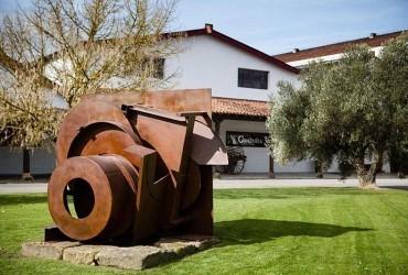 Las esculturas de Anthony Caro invaden la bodega CVNE