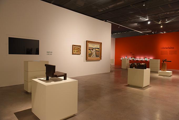 Vista de la exposición Sin Título. La Colección Telefónica como nunca se ha visto.